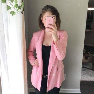 Zara Pink Blazer - XS